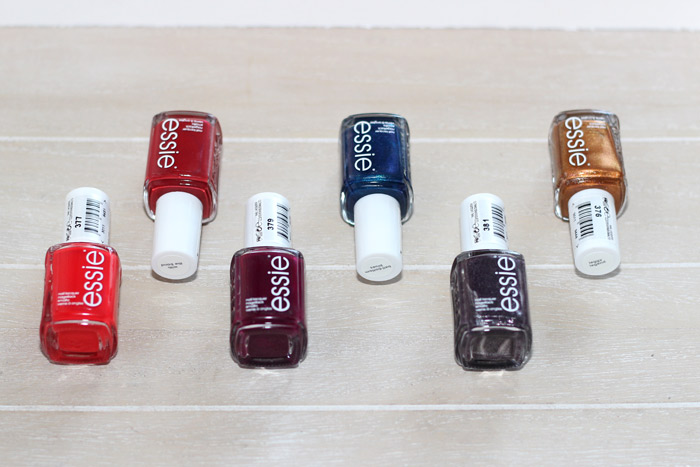 Essie Taking Center Stage – Fall 2015 collection