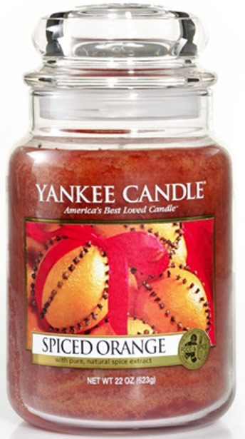 yankee candle herfst spiced orange