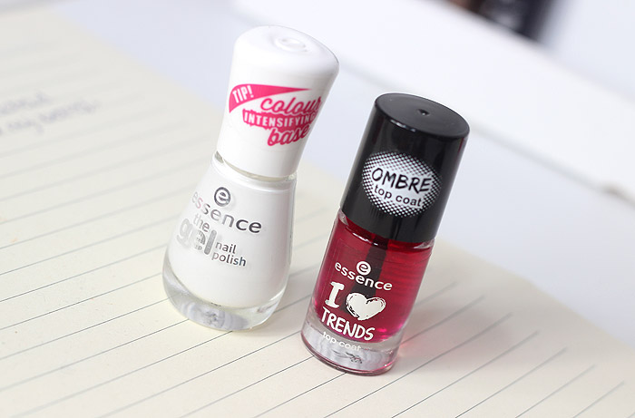 essence ombre top coat candy cane lemonade