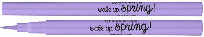 essence wake up spring eyeliner pen 01 Happy first day of spring