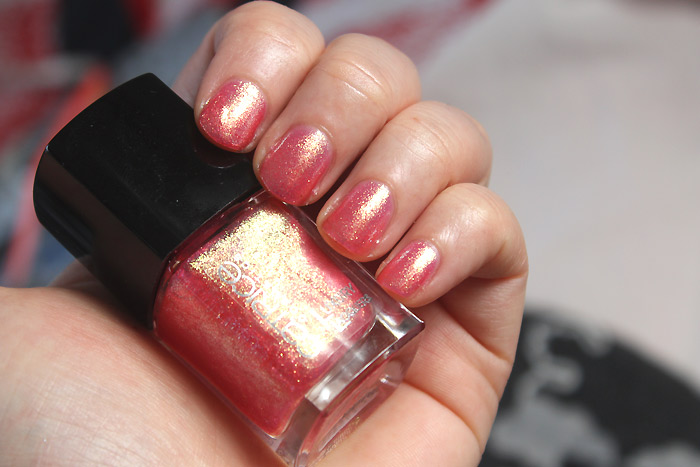 catrice pink rock shock luxury lacquers liquid metal