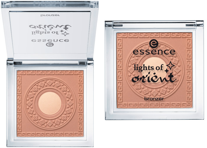 essence lights of orient bronzer sunkissed beauty