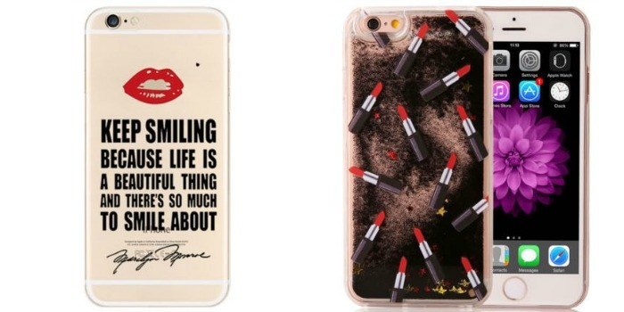 ebay iphone 6 cover quote lipstick