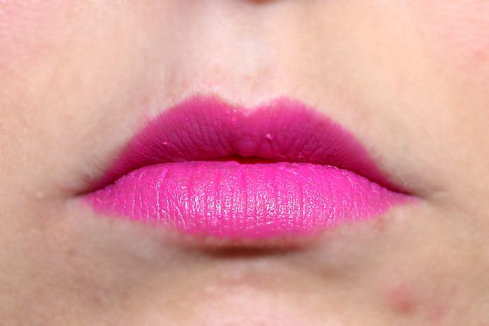 makeup revolution it eats you up matte candy yum yum dupe