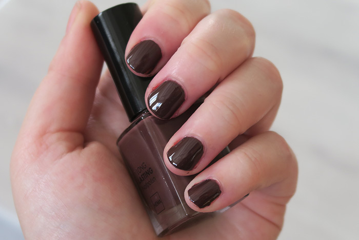hema nagellak chocolate sprinkless