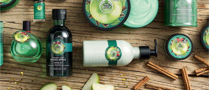 the body shop spiced apple