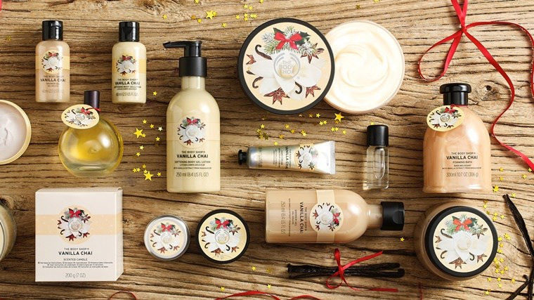 the body shop vanilla chai