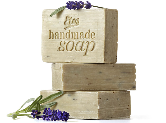 Etos soap it up Handmade Soap Lavendel