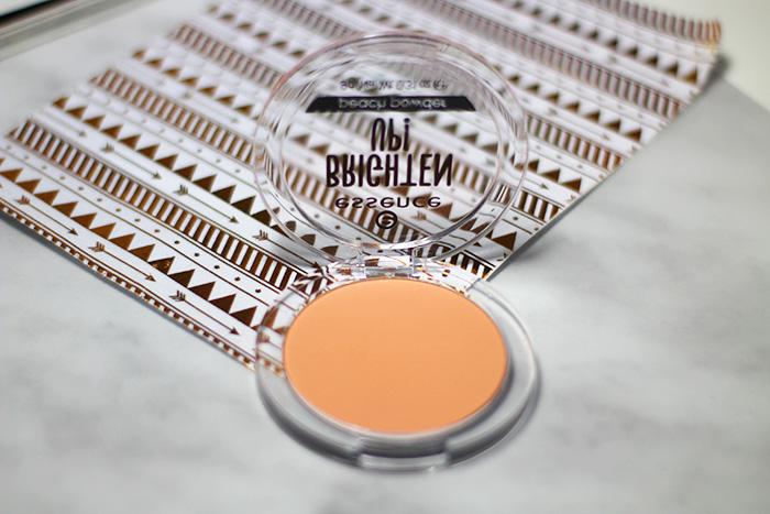 essence brighten up peach powder