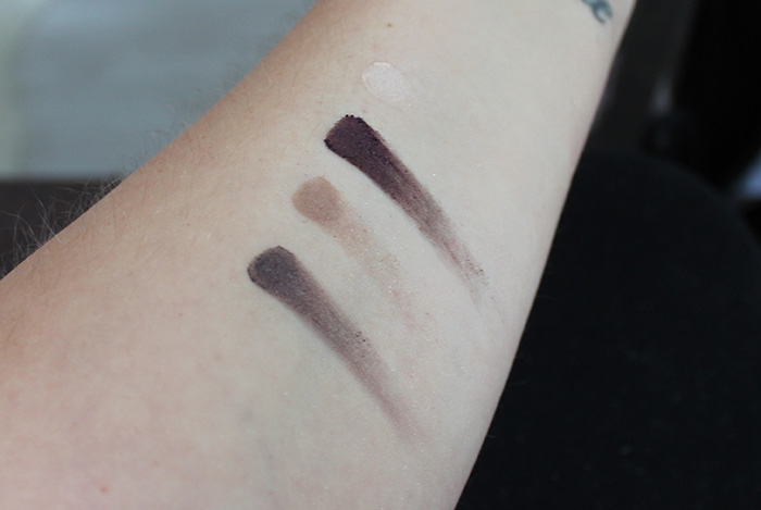 l.o.v. the matte x metallic eyeshadow swatches