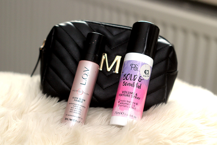 dagelijkse make-up primark texture spray primer