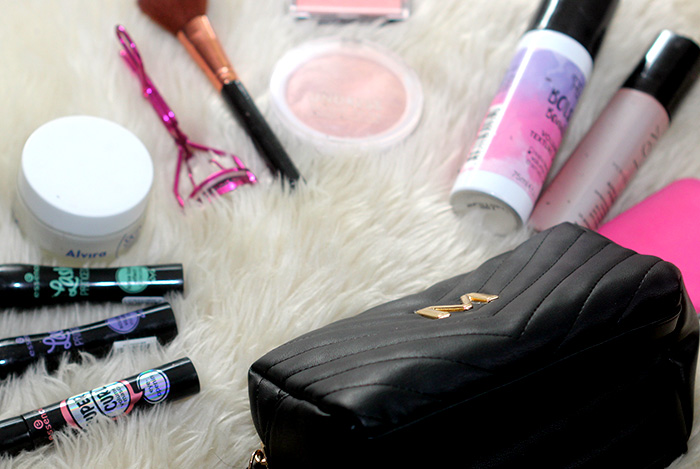 dagelijkse make-up primark toilettasje