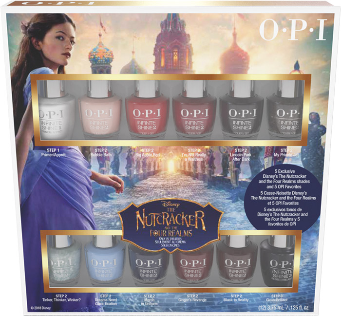 OPI Disney The Nutcracker 10 pack mini