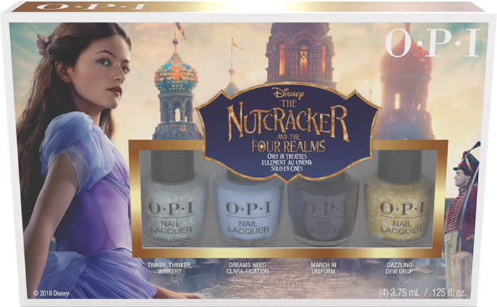 OPI Disney The Nutcracker 4 pack mini 1
