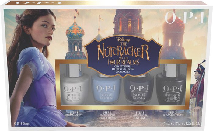 OPI Disney The Nutcracker 4 pack mini