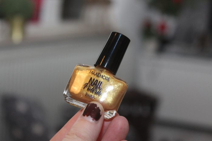 action adventskalender dag 23 nagellak golden sunrise