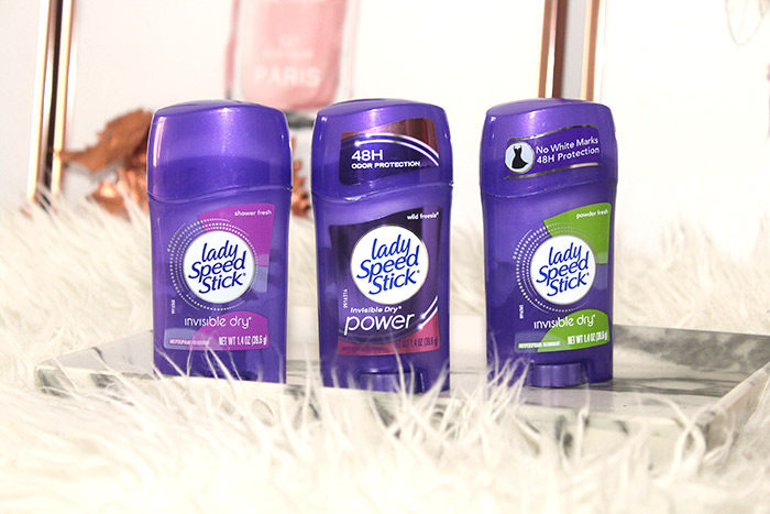 Lady Speed Stick deodorant review