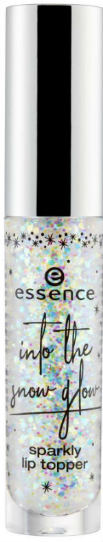 essence into the snow glow sparkly lip topper