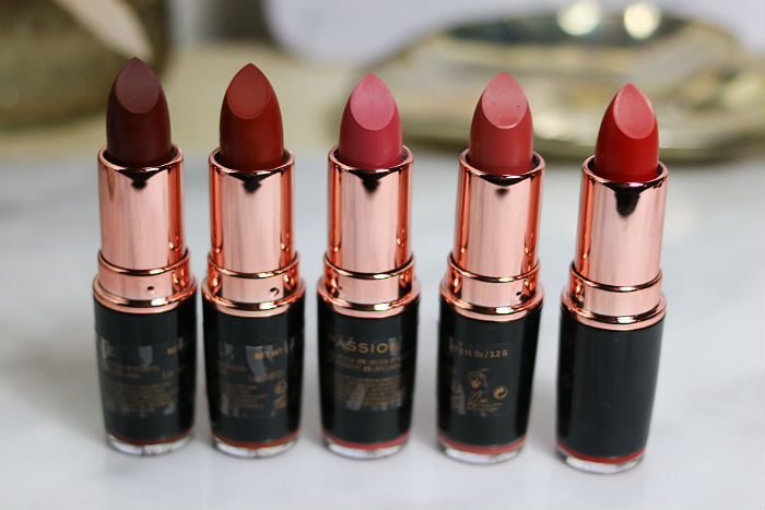makeup revolution matte lipsticks lip advent calendar