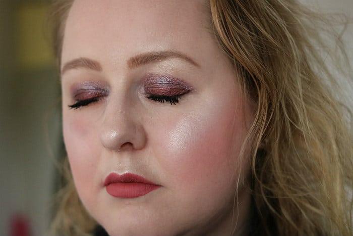 primark midnight mauves eyeshadow palette makeup look 1