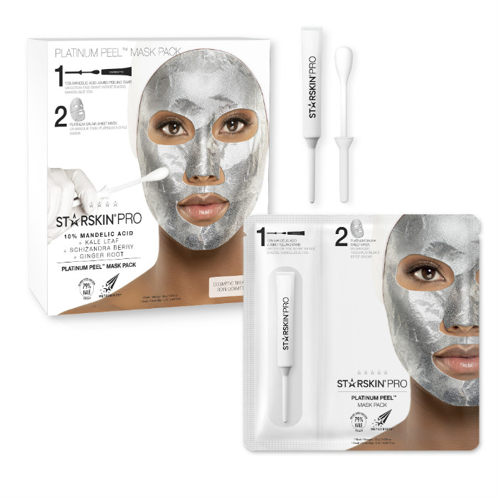 starskin platinum peel mask pack