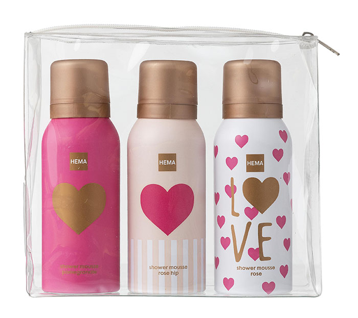 hema valentijn shower mousse
