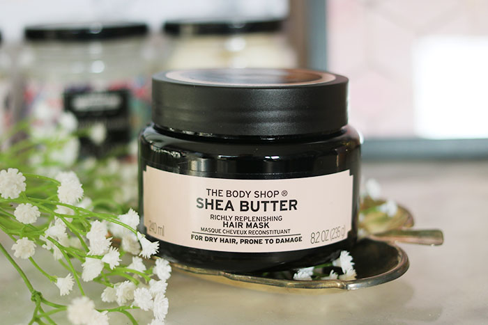 the body shop shea butter haarmasker