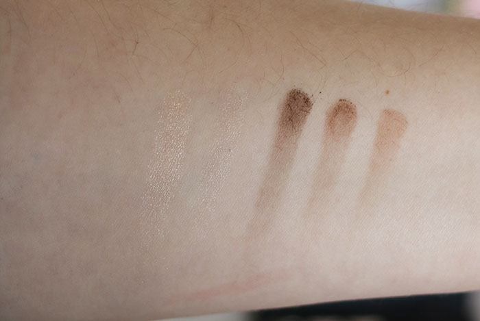 swatches action eyebrows palette