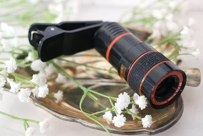 tele lens mobiele telefoon