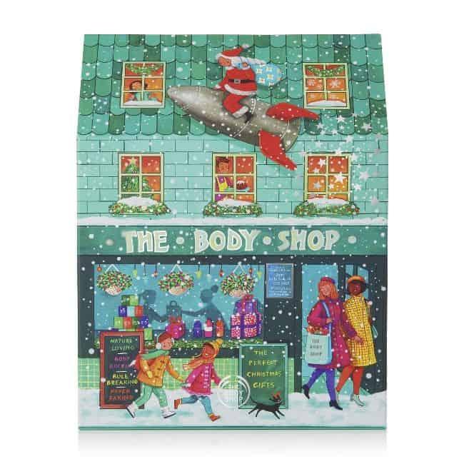 the body shop deluxe adventskalenders