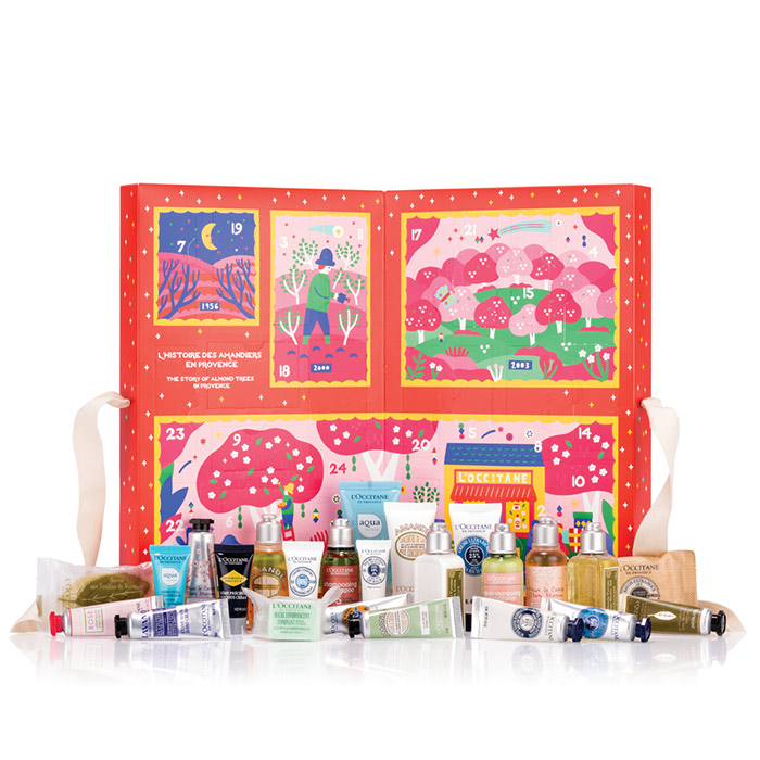 l'occitane classic advent kalender