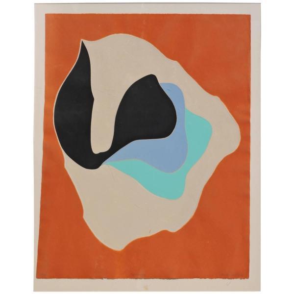 Intaglio Aquatint Etching by Barbara Kwasniewska - 1970