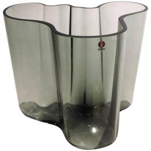 Alvar Aalto signed Savoy Vase for Ittala - 1970