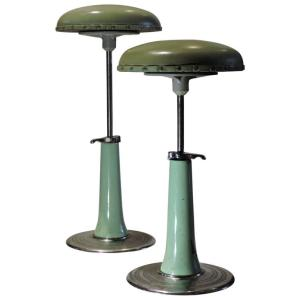 Bausch & Lomb Industrial Laboratory Stools