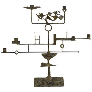 Abstract Brutalist Candelabra