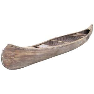 Early Wood Canoe