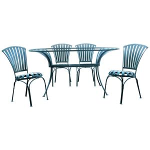 Francois Carre Table and Chairs