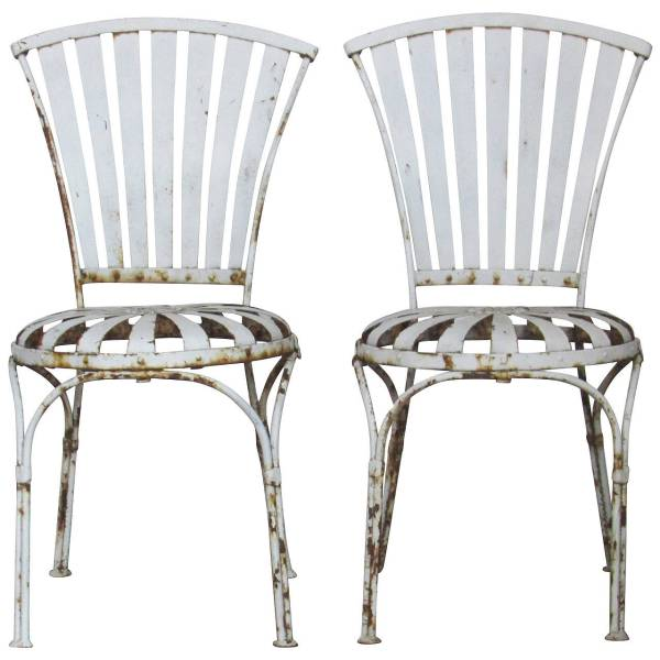 Francoise Carre' style Side Chairs