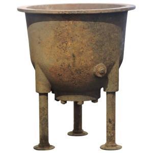 Antique Industrial Iron Caudrons