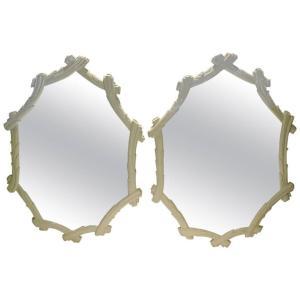 Faux Bois Mirrors