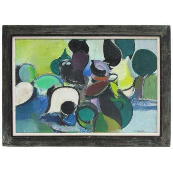 Henry Kallem New York School Abstract Modernist