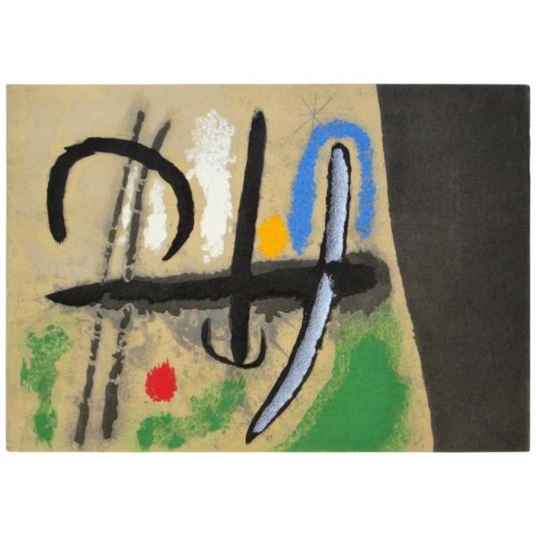 Joan Miro Pochoir 1965