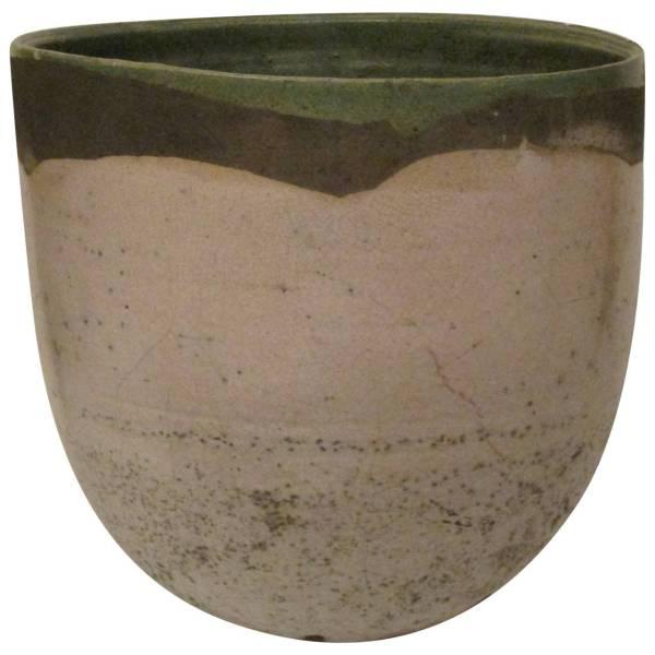 Large Raku Pottery Vessel by Nancy Jurs
