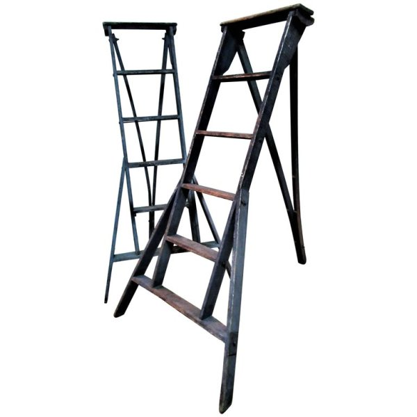 Antique Orchard Ladders