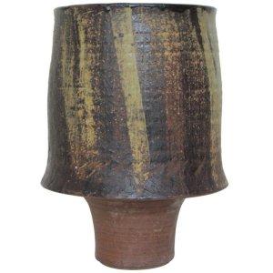 Secrest Large Modernist Pottery Vessel