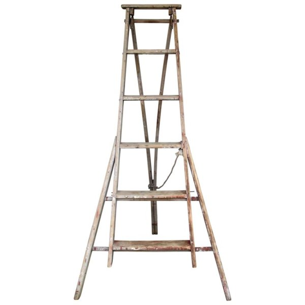 Antique American Orchard Ladder