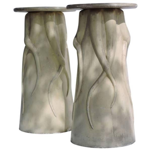 Surrealist Fiberglass Pedestals