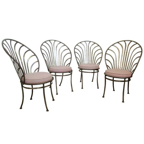 Arthur Umanoff Steel Chairs