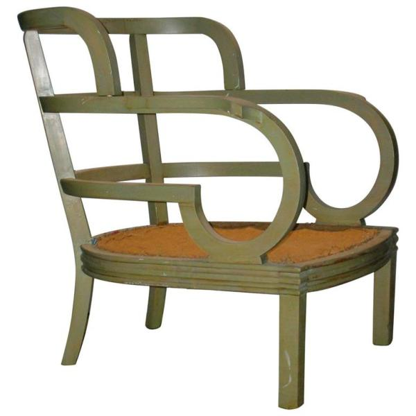 Secessionist style Lounge Chair