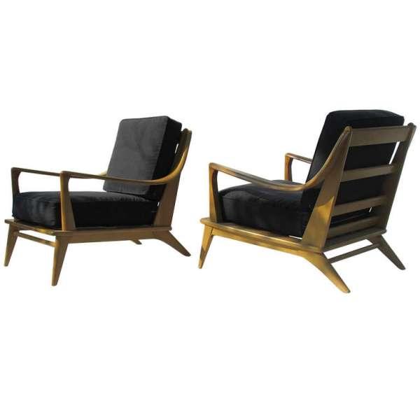 Heywood Wakefield Streamlined Lounge Chairs